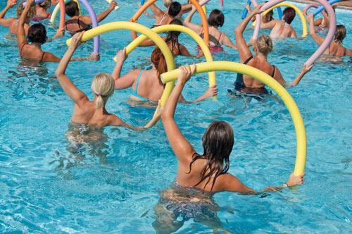 Aqua und mehr - Frauen im Wasser