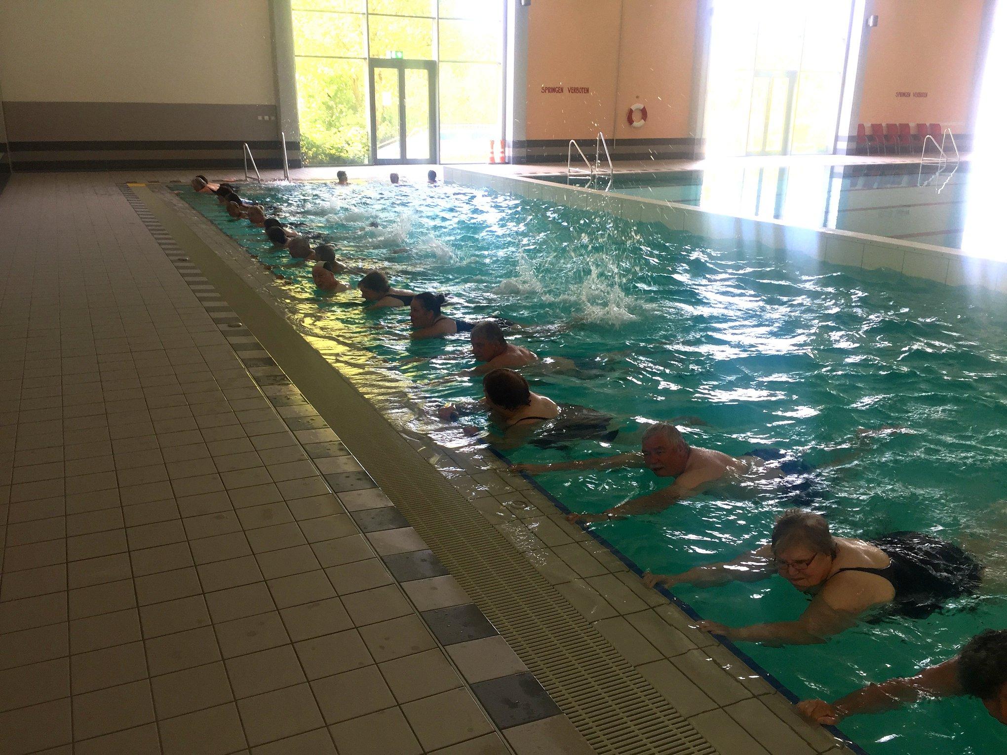 Sport im Park Aquajogging 2018 Aqua und mehr e.V.