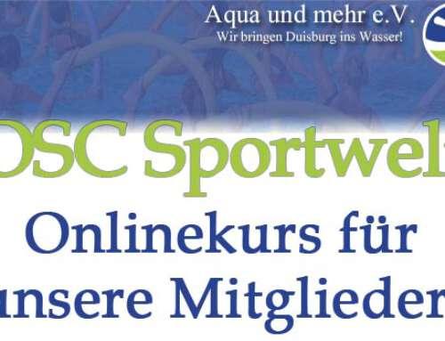 OSC Sportwelt – Onlinekurs