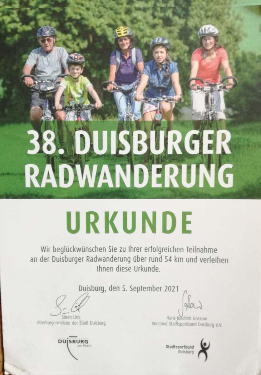 Radtour 05.September 2021